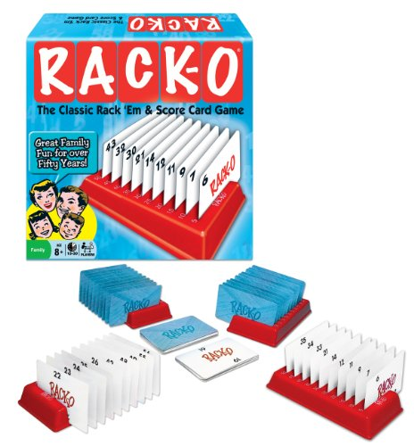 Rack-O Card Game by Winning Moves