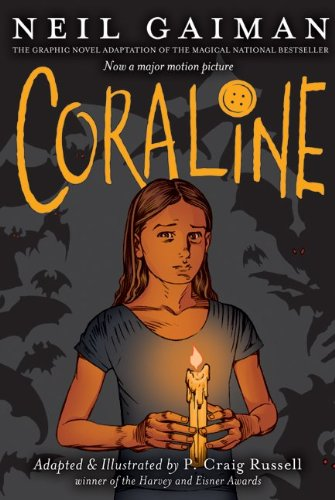 Cover of Coraline: The Graphic Novel