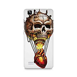 Mobicture Skull Abstract Premium Printed Case For Vivo X5