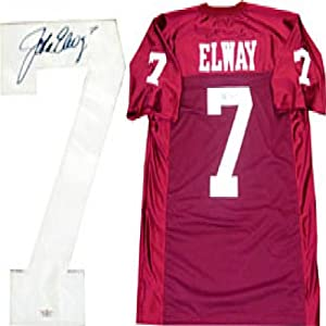 John Elway Autographed Signed Stanford University Cardinals Jersey (James Spence) by Memorabilia