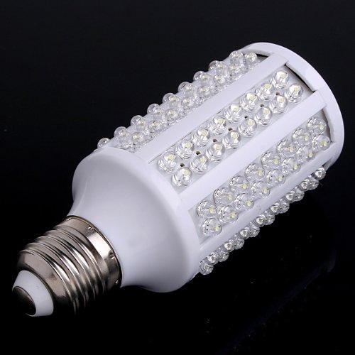 Kingzer E27 Led Light 7W Corn Bulb Lamp 220V 166 Led White
