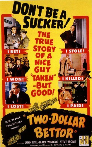 Two Dollar Bettor Movie Poster Print