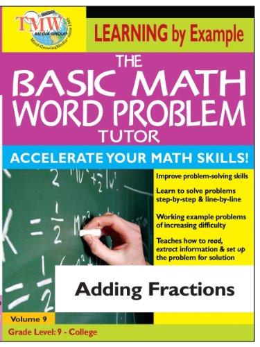 Basic Math Word Problem Tutor: Adding Fractions