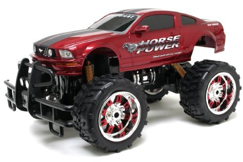 New Bright Monster Muscle Challenger Radio Control Vehicle (Colours May Vary)