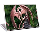 MusicSkins Anne Stokes Elegant Dragon Skin for 13 inch MacBook, MacBook Pro, MacBook Air and PC Laptop