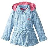 Pink Platinum Little Girls' Tonal Leopard Jacket