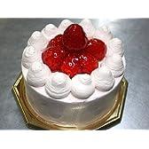 ストロベリー生デコレーション 【5号 15cm バースデーケーキ 誕生日ケーキ デコ】::113