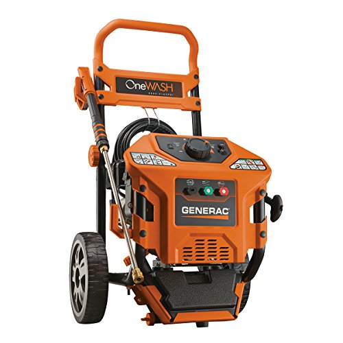 Generac 6602 OneWash 3,100 PSI, 2.8 GPM, 4-in-1 PowerDial, Gas Powered Pressure Washer