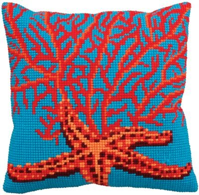 collection-dart-40-x-40-cm-red-starfish-cross-stitch-cushion-kit