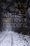 What Never Happens (1455523143) by Holt, Anne