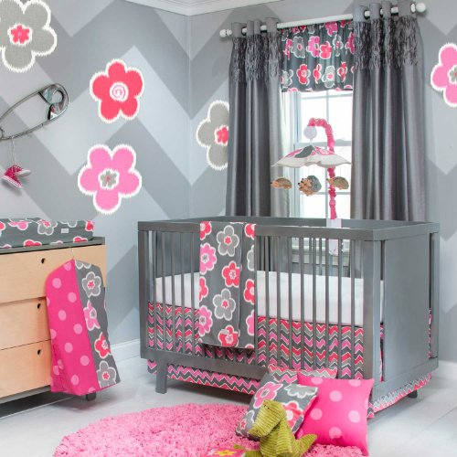Sweet Potato Crib Bedding Set, Addison, 3 Piece