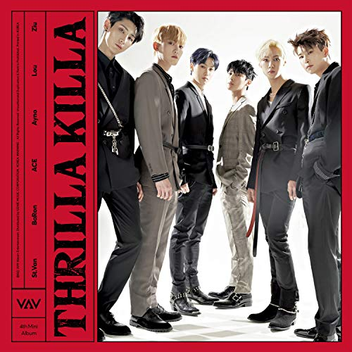 CD : Vav - 4th Mini Album: Thrilla Killa (inc. 88-pg Photobook, One Postcard +one Random Photocard) (Photo Book, Postcard, Photos, Asia - Import)
