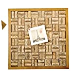 Wine Cork Corkboard Bulletin Board Set