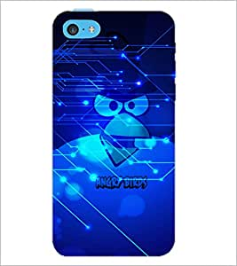 PrintDhaba Cartoon D-2845 Back Case Cover for APPLE IPHONE 5C (Multi-Coloured)