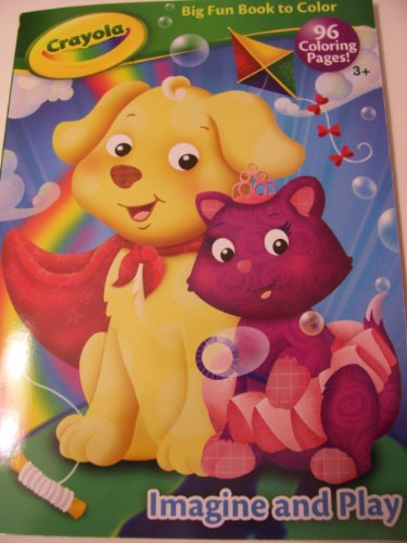 Crayola Big Fun Book to Color ~ Imagine and Play (96 Coloring Pages) - 1