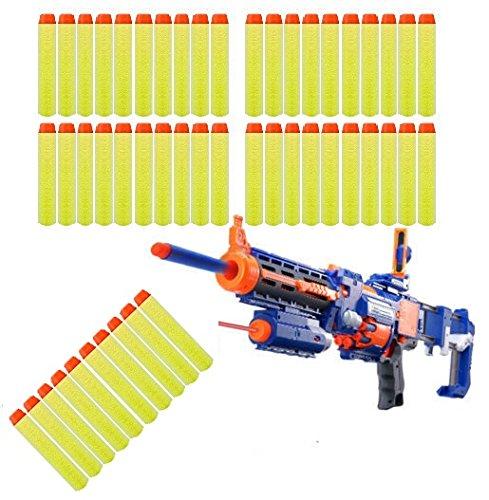 imbs-50-x-foam-nerf-blaster-elite-refill-bullets-flexible-soft-fun-darts-for-toy-gun-blaster-in-yell