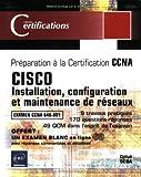 echange, troc Djillali Seba - CISCO : Installation, configuration et maintenance de réseaux