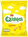 Walkers Cheese Quavers Crisps 20.5 g (Pack of 48)