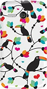 DailyObjects Tree Tucan Case For Motorola Moto G (Back Cover)
