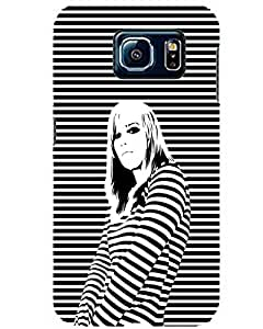 WEB9T9 Samsung Galaxy S6 back cover Designer High Quality Premium Matte Finish 3D Case