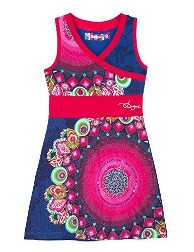 Desigual, SALEM - Vestido para niñas, color azul lovely, talla 116