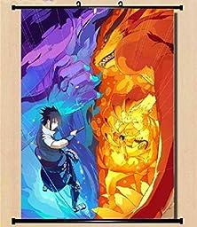 Anime family Naruto Itachi Uzumaki Sasuke Wall poster Scroll Home Decor Japanese
