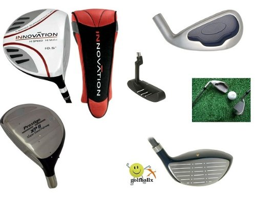 AGXGOLF: Men's Left Hand XPII Edition Executive Golf Club Set; Callaway Style Irons All Sizes; Bonue Utility Wood+Free Putter; Fast Shipping Built in the U.S.A.