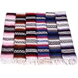 Traditional Mexican Yoga Blankets - Assorted Colours