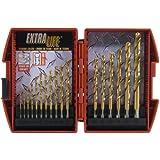 Mibro 871570 17-Piece Titanium Extra Life Metal Master Drill Bit Set