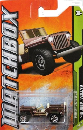 2012 Matchbox (108/120) - '43 Jeep Willys