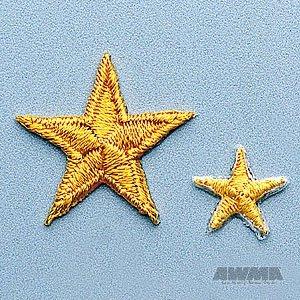 Yellow Achievement Star Patch 2