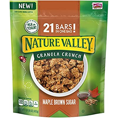 Nature Valley Maple Brown Sugar Granola Crunch Pouch, 16 Ounce from General Mills