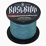KastKing SuperPower Low-Vis Gray Braid Fishing Line 500M (550 Yards)/1000M(1100 Yards) Advanced Superline