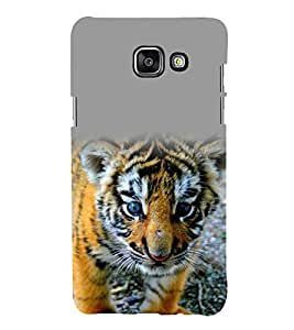 printtech Nature Animal Tiger Cub Back Case Cover for Samsung Galaxy A7 (2016)
