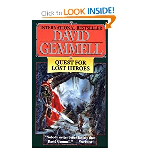 Quest for Lost Heroes (Drenai Tales, Book 3) by David Gemmell