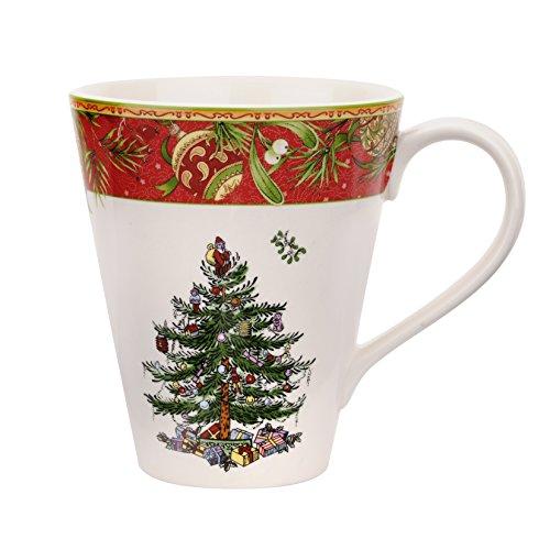 Spode Christmas Tree Annual Edition 2015 Mandarin Mug, Multicolor Spode Christmas Tree Annual