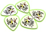 System of a Down 5 X Glow in the Dark Guitar Picks Band Plectrums
