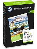 HP 940XL Officejet Brochure Value Pack - Print cartridge - 1 x yellow, cyan, magenta