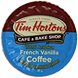 Tim Hortons French Coffee, Vanilla, 24 Count