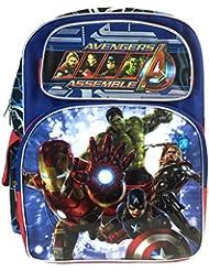 """Marvel Avengers Assemble 16"""" Backpack Back To School"""