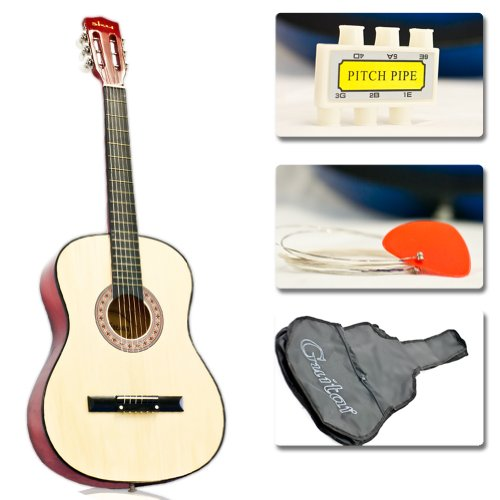 Natural Acoustic Guitar w/ Accessories Combo Kit Beginners