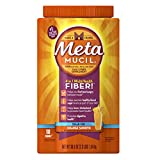 Metamucil Psyllium Fiber Supplement by Meta Orange Smooth Sugar Free Powder 180 doses, 36.8 Ounce