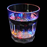 Flashing LED Light Water/Beer/Cola Mug Cup Bottle of Hard Plastic
