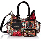 Desigual Bols London Medium Corner Flor, Sac bandoulière