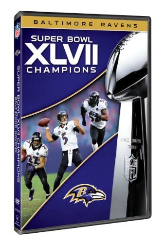 NFL Super Bowl XLVII Champions: 2012 Baltimore Ravens by NFL Productions (Super Bowl 2012 compare prices)