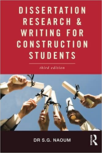 Image: Cover of Dissertation Research and Writing for Construction Students
