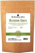 The Republic Of Tea Blueberry Superfruit Green Tea Bags 250 Tea Bag Bulk