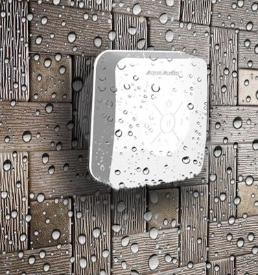Aquaaudio Cube - Mini Ultra Portable Waterproof Bluetooth Wireless Stereo Speakers With Suction Cup For Showers, Bathroom, Pool, Boat, Car, Beach, Outdoor Etc. | For All Devices With Bluetooth Capability + Siri Compatible - 6 Hours Playtime / With Built-I