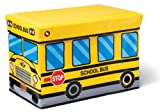 Kidoozie School Bus Toy Box