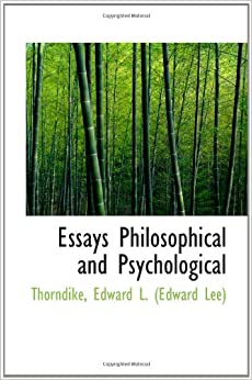 Attention philosophical and psychological essays